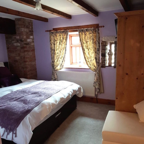 North Kingsfield Cottages Mill House First Bedroom