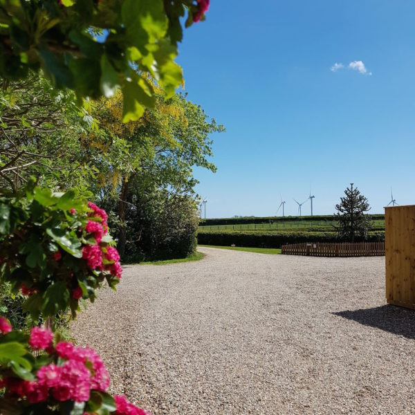 North Kingsfield Holiday Cottages farm entrance