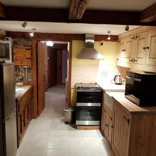 North Kingsfield Cottages Mill House kitchen