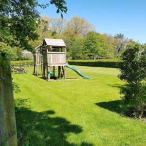 North Kingsfield Holiday Cottages play area